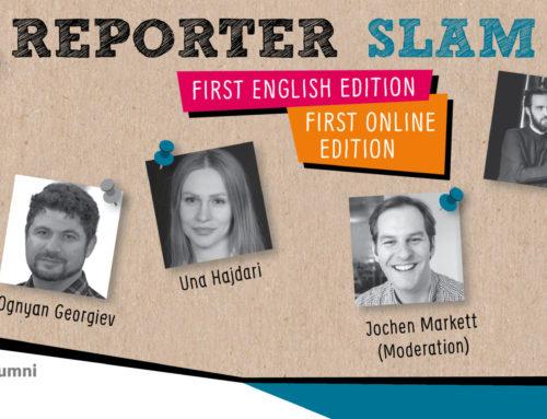 June 18: First Online Reporter Slam // Bosch Alumni Network